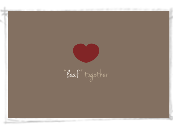 Leaf together