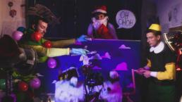 Dietro le quinte video d'animazione Natale
