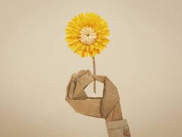 Paper craft e illustrazioni in carta per campagne stampa e locandine